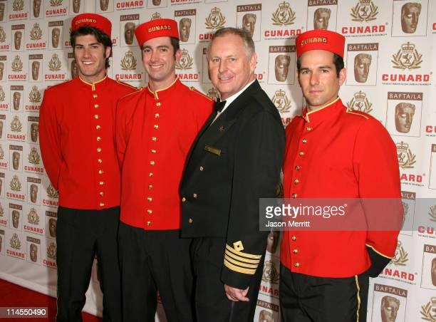 Captain Christy with Richard Griffiths Samuel Barnett and Dominic Cooper Burnette