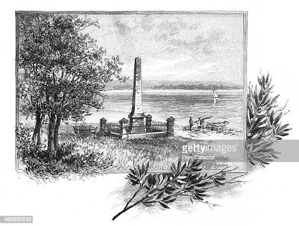 Captain Cook's landing place Botany Bay New South Wales Australia 1886 Botany Bay is a bay near Sydney where James Cook made his first landfall on...