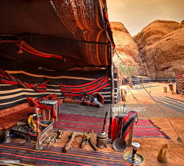 captain desert camp in wadi rum desert
