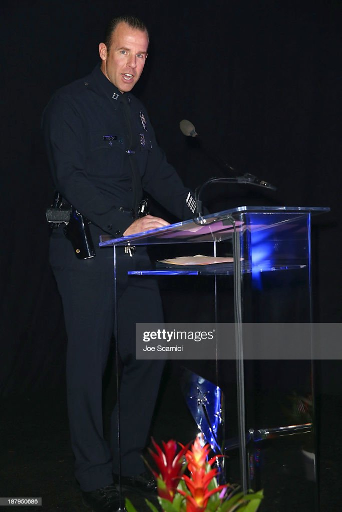 Captain Ed Prokop attends the 2013 Los Angeles Police Department South Los Angeles PAAL Awards Gala at Peterson Automotive Museum on November 13, 2013 in Los Angeles, California.