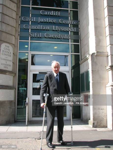 Captain Edmund Carlisle outside the Cardiff Civil Justice Centre Captain Carlisle is suing DyfedPowys Police for assault wrongful arrest and false...