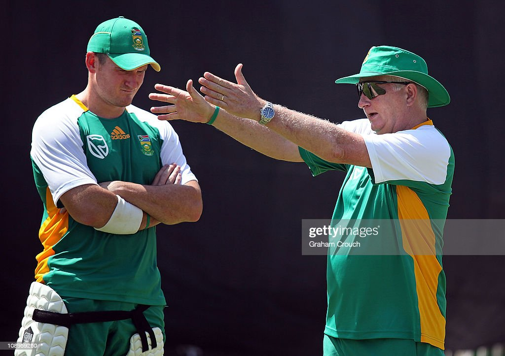 2011 ICC World Cup - South Africa Press Conference And Nets