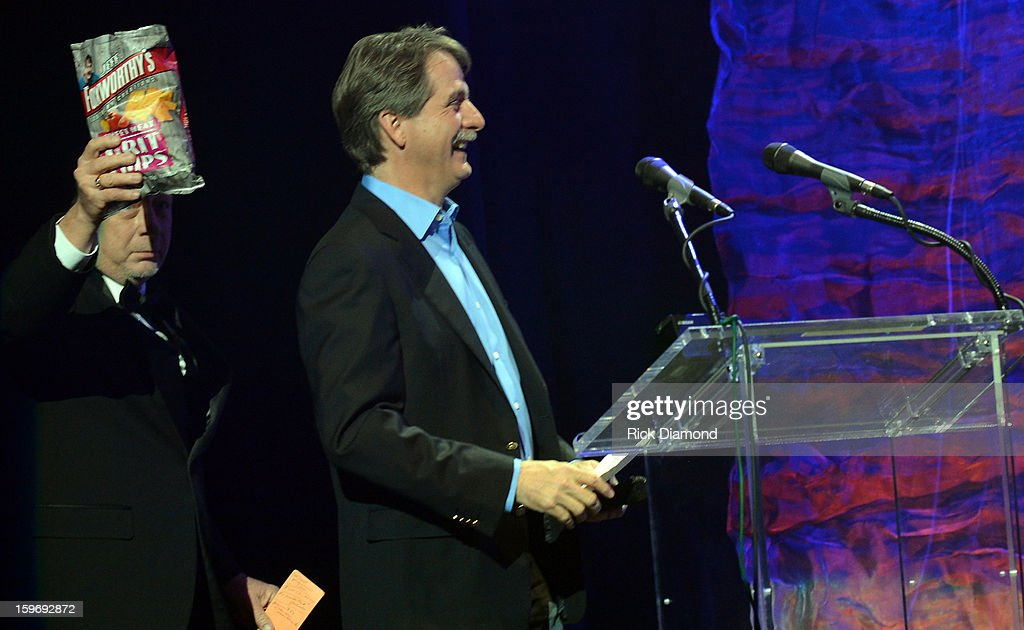 Captain Herb and Jeff Foxworthy attend The Boortz Happy Ending at The Fox Theater on January 12, 2013 in Atlanta, Georgia.