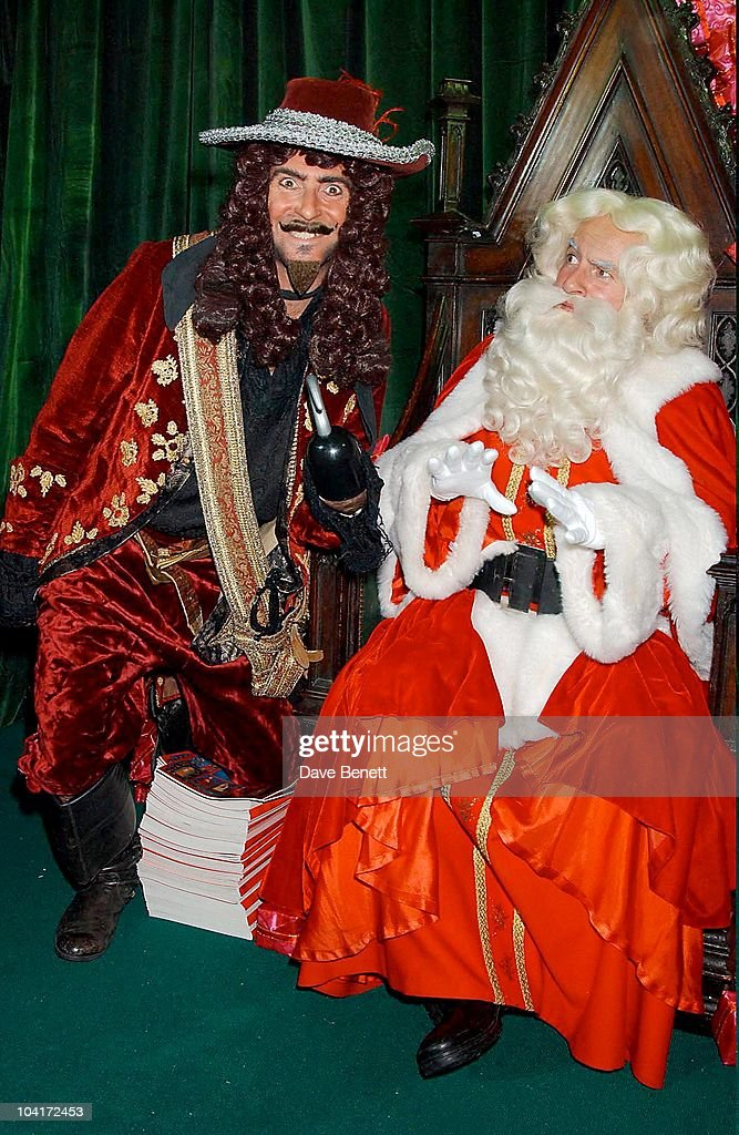 Captain Hook And Father Christmas