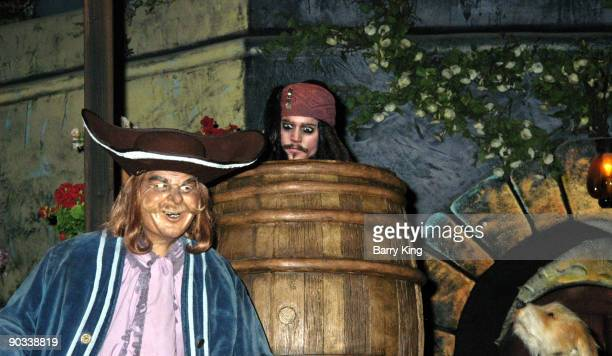 Captain Jack Sparrow in the 'Pirates of the Caribbean' Ride at Disneyland