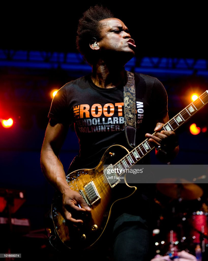Captain Kirk Douglas of the Roots performs at the 3rd Annual Roots Picnic at the Festival Pier on June 5, 2010 in Philadelphia, Pennsylvania.