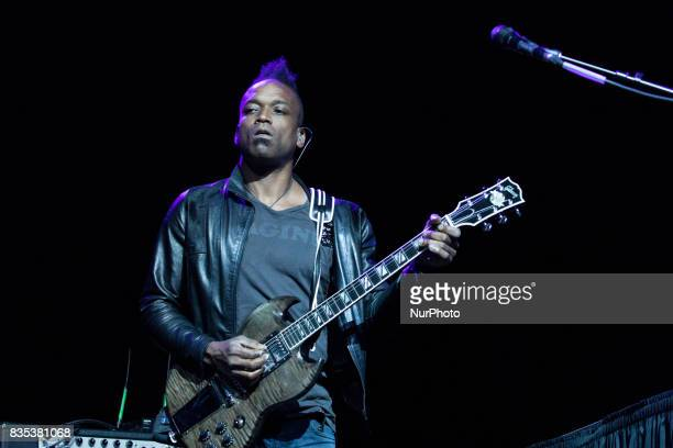 Captain Kirk Douglas performed with The Roots at the MGM National Harbor in Oxon Hill MD on Sunday August 13 2017