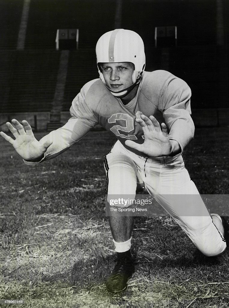 Captain Mack Franklin of Tennessee Volunteers circa 1951 in Knoxville Tennessee