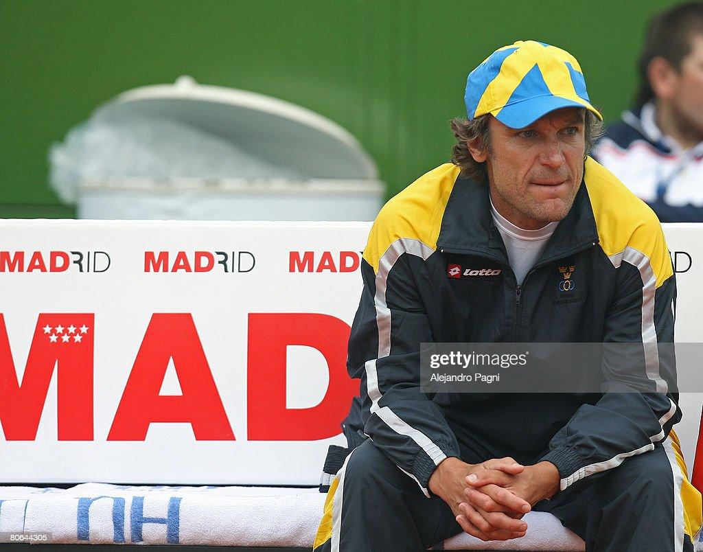 Davis Cup Quarterfinal Sweden v Argentina s and