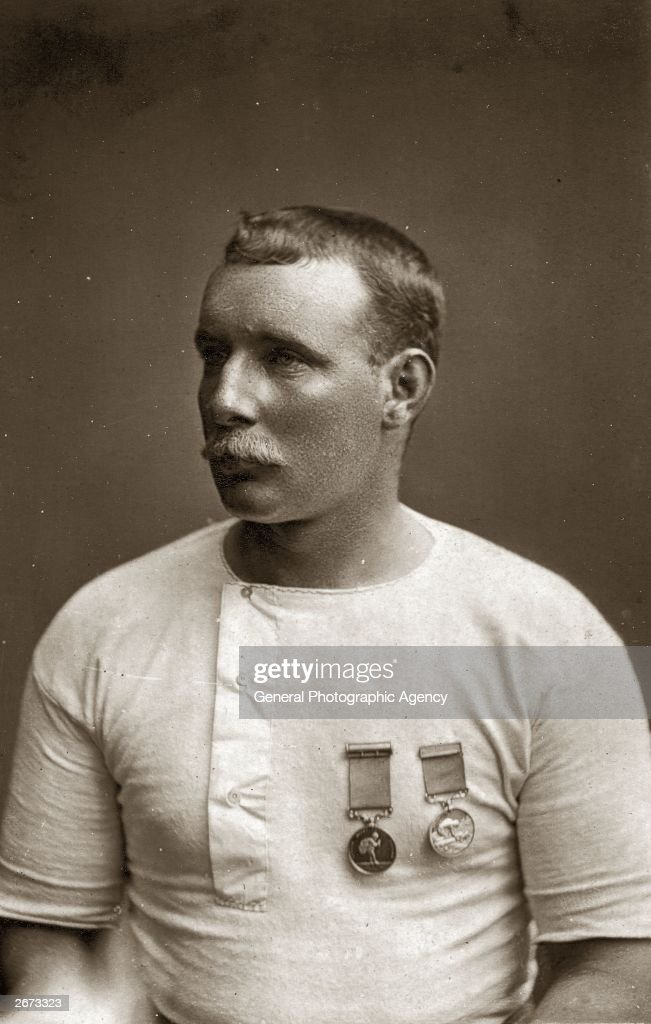 Captain Matthew Webb born in Dawley Shropshire to become master mariner professional swimmer and the first man to swim the English Channel