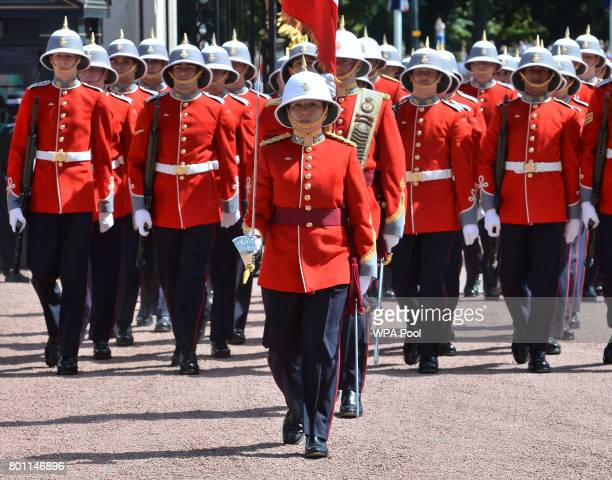 Captain Megan Couto of the 2nd Battalion Princess Patricia's Canadian Light Infantry makes history as she becomes the first woman to command the...