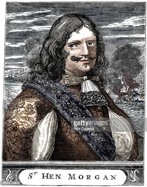 Captain Morgan 17th century buccaneer c1880 Born in Wales Captain Henry Morgan was a notorious pirate and buccaneer who with the tacit support of the...