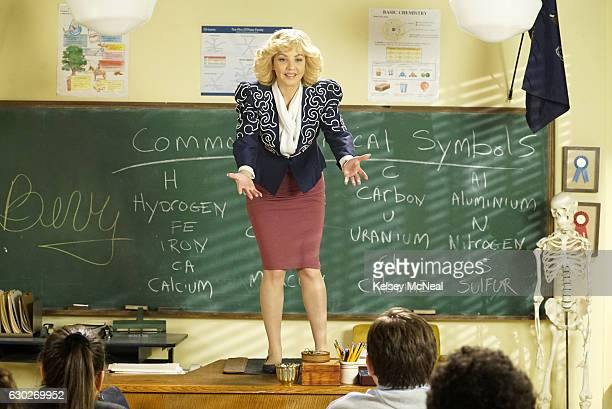 THE GOLDBERGS 'O Captain My Captain' Beverly substitutes for Barry's chemistry class in hopes to inspire students in the same way as Mr Keating from...