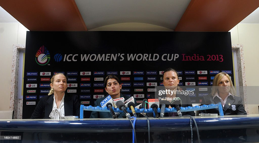ICC Women's World Cup India 2013 Press Conference