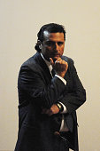 Captain of Costa Concordia Francesco Schettino stands before the court for his trial where he will give evidence for the first time on December 2...