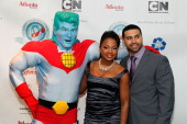 Captain Planet Real Housewives of Atlanta cast member Phaedra Parks and her husband Apollo Nida attend the Captain Planet Foundation Annual benefit...