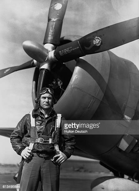 Captain Robert S Johnson a former cabinetmaker born in Oklahoma is the most prolific destroyer of enemy aircraft in the US Air Force in Europe He has...