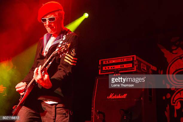 Captain Sensible of The Damned performs at O2 Academy Islington on December 20 2015 in London England