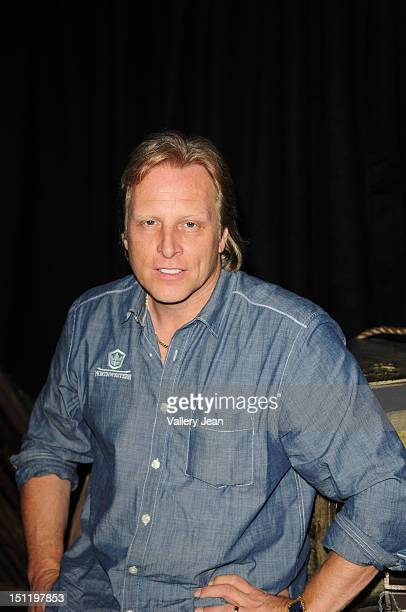 Captain Sig Hansen of the Discovery Channel's 'Deadliest Catch' attends a meet and greet at Seminole Casino on August 25 2012 in Hollywood California