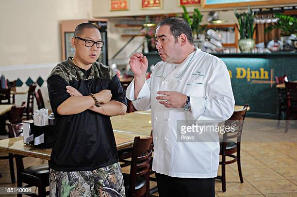 TOP CHEF 'Captain Vietnam' Episode 1104 Pictured Judges Eddie Huang Emeril Lagasse
