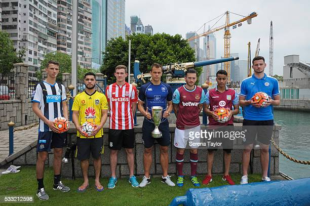 Captains seen LR Dan Barlaser from Newcastle United Justin Gulley from Wellington FC Lewis Banks from Stoke City Gary Gheczy from Hong Kong FC Lewis...