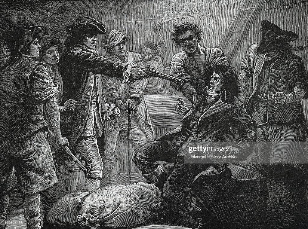 Capture of Irish Nationist Wolf Tone