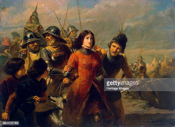 Capture of Joan of Arc' 18471852 Dillens AdolpheAlexander Found in the collection of the State Hermitage St Petersburg