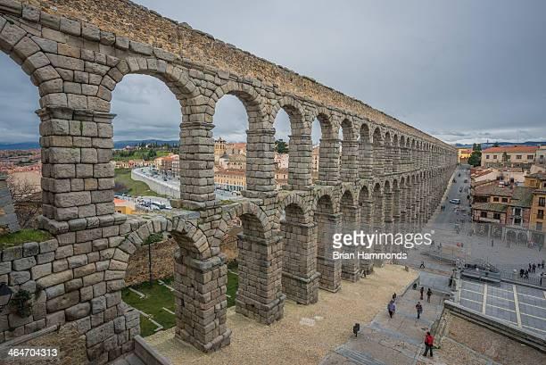 CONTENT] Capture of the Roman aqueducts in Segovia Spain