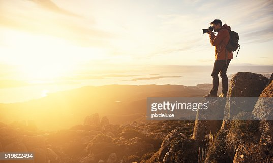 Capturing a beautiful view