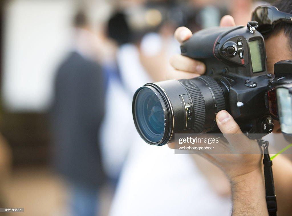 Capturing an image : Stock Photo