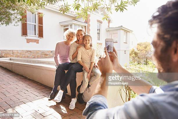Capturing beautiful family moments