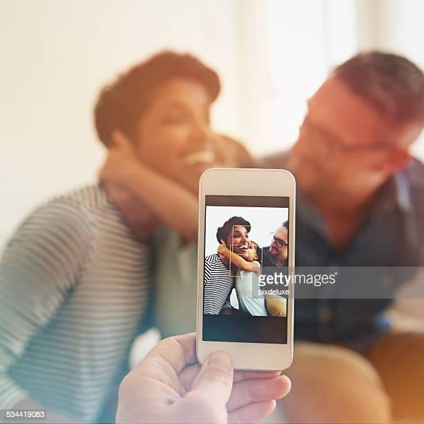 Catturare i momenti in famiglia