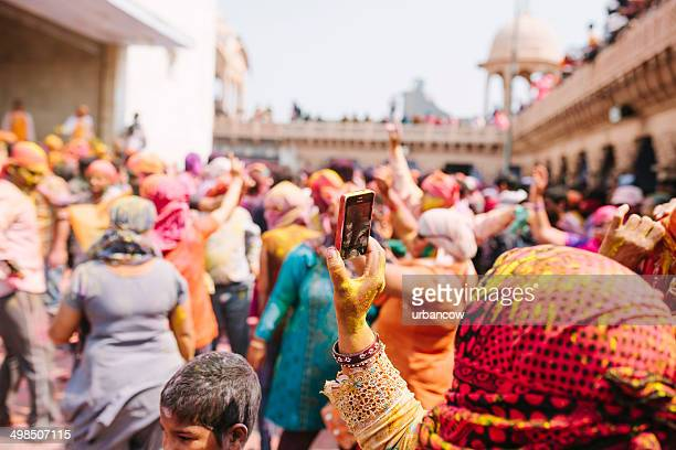 Capturing Holi