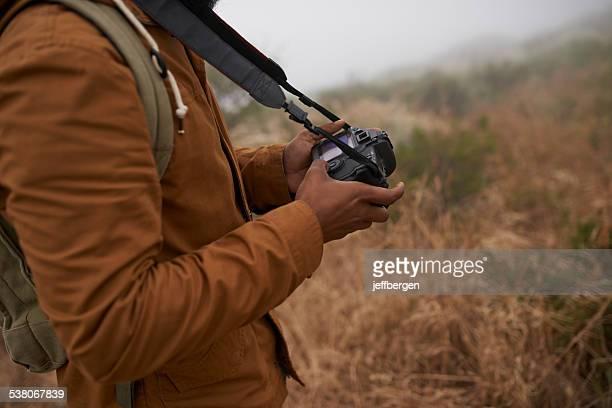 Capturing nature on film