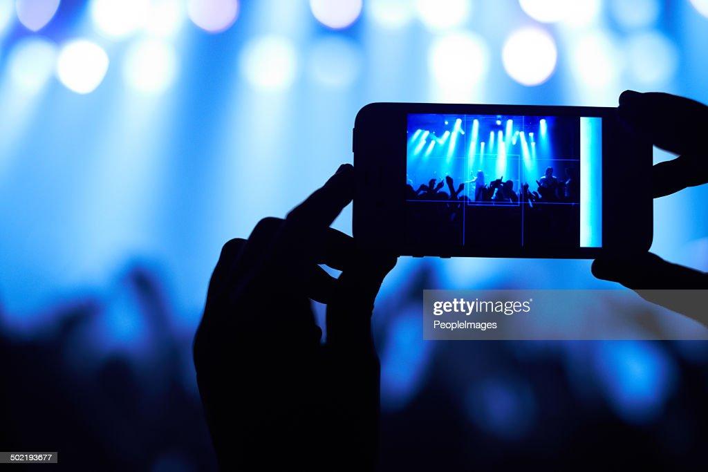 Capturing the awesomeness! : Stock Photo