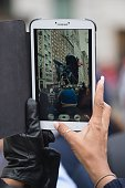 Capturing the Macy's 2014 88th Thanksgiving Day Parade The Manhattan Borough of New York New York USA