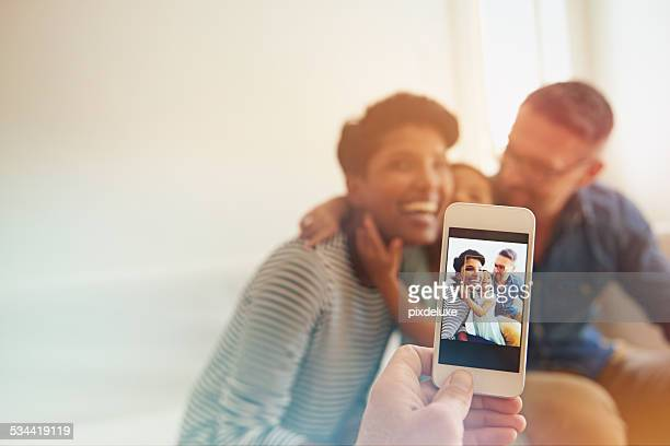 Capturing those loving family moments