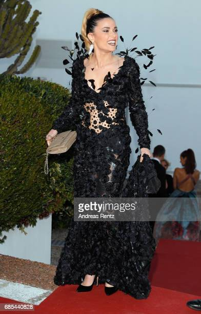 Capucine Anav attends the Eva Longoria Global Gift Gala during the 70th annual Cannes Film Festival at on May 19 2017 in Cannes France