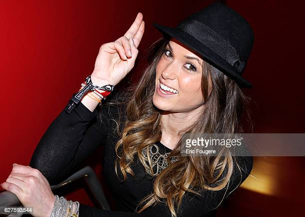 Capucine Anav of secret story Photographed in PARIS