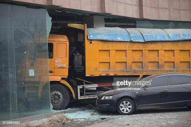 Car accident in Beijing