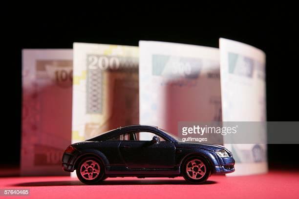 Car and Arab Money