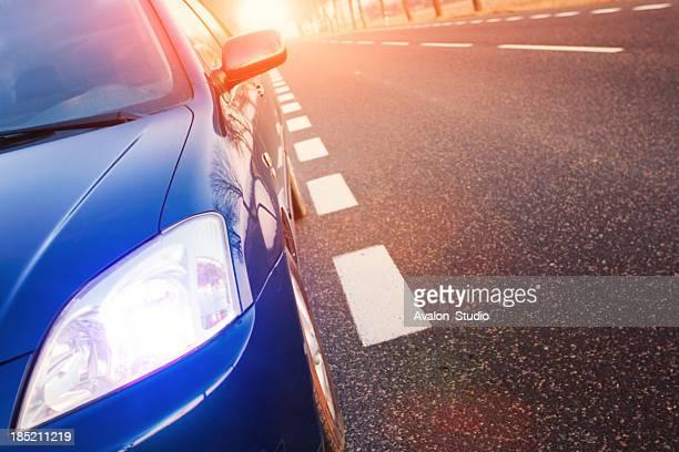 Car and light