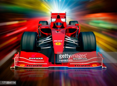 F1 Car And Neon Lights Clipping Path Included Stock #1: car and neon lights clipping path included picture id s= a