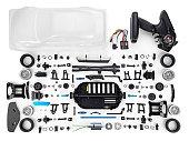 rc car assembly kit