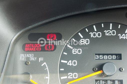 Car Dashboard Warning Lights Symbols Stock Photo Thinkstock