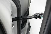 car door hinge of city vehicle, new parts