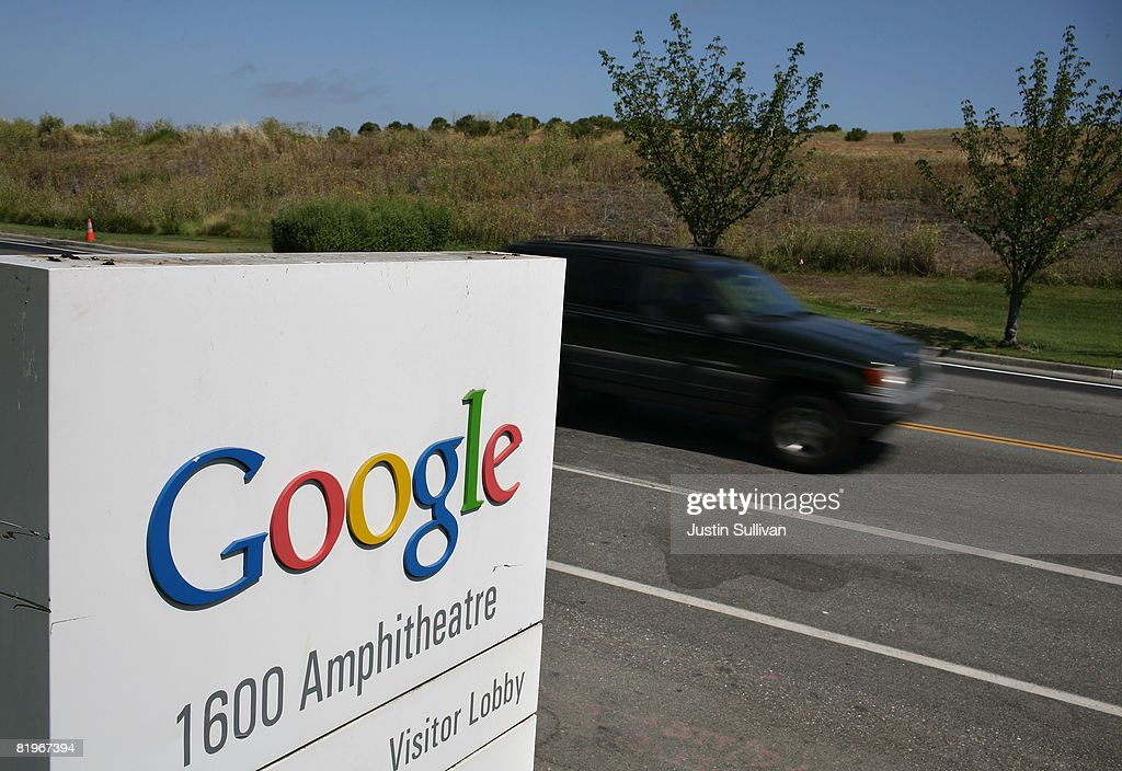 A car drives by a sign outside of the Google headquarters July 17, 2008 in Mountain View, California. Google Inc. is expected to announce an increase in quarterly profits when it reports its quarterly earnings today after the closing bell.