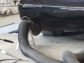 Car Emissions Measurement. Photo taken with SAMSUNG GALAXY K zoom