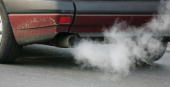 A car emits exhaust fumes on February 7 2007 in Berlin Germany The European Commission announced new carbon dioxide targets for car makers which the...