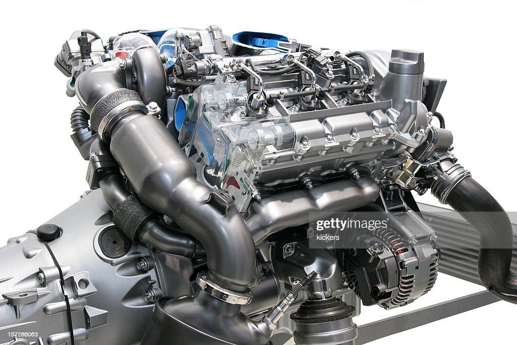 Car engine, isolated